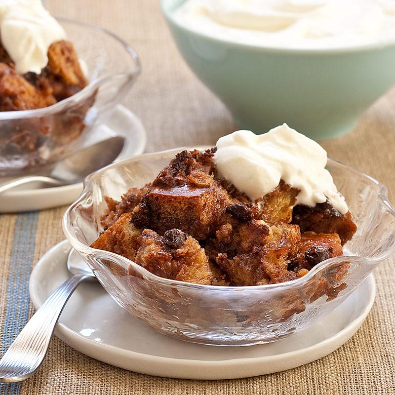 Chocolate Hazelnut Bread Pudding America S Test Kitchen