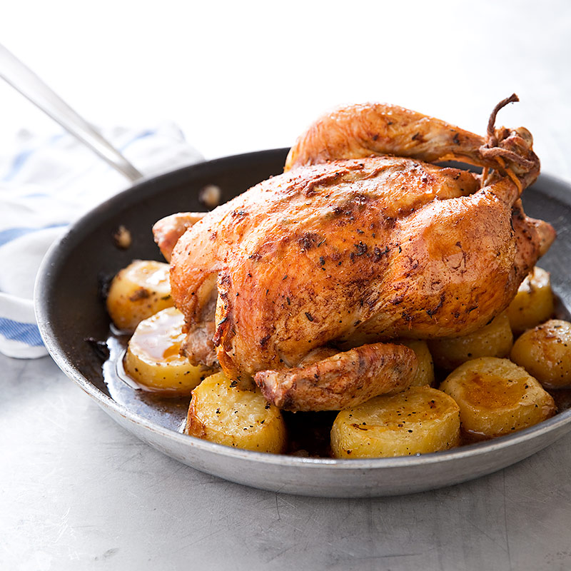 Test Kitchen Skillet Chicken And Potatoes