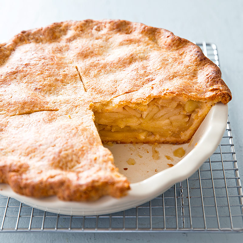 Apple Pie with Cheddar Cheese Crust Recipe - Cook's Country