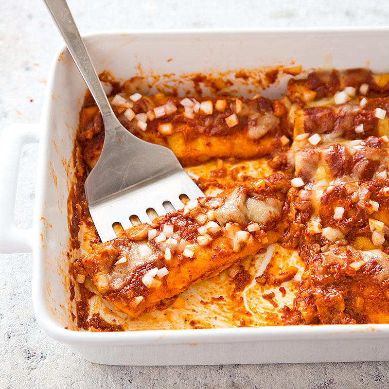 America S Test Kitchen Cheese Enchiladas