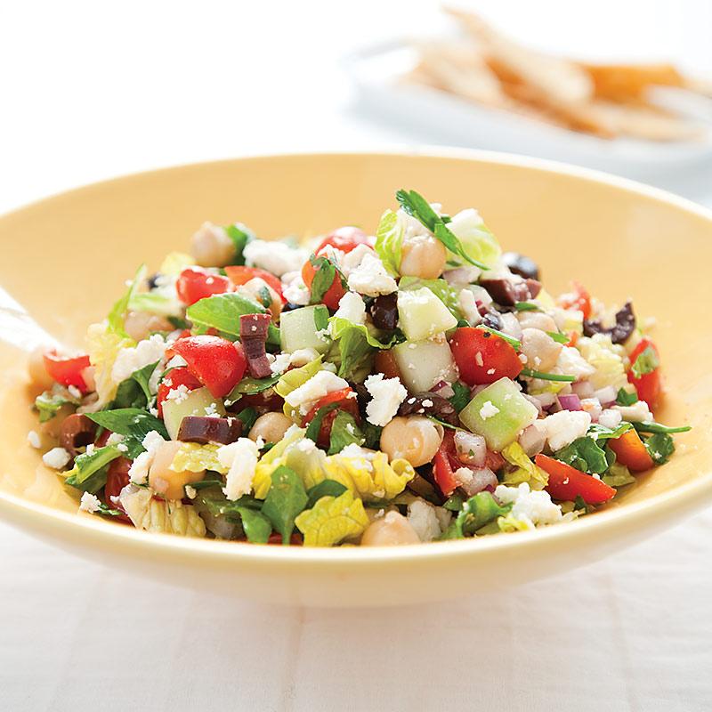 Mediterranean Chopped Salad America S Test Kitchen