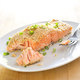 Sesame-Crusted Salmon with Orange and Chili Powder for Two