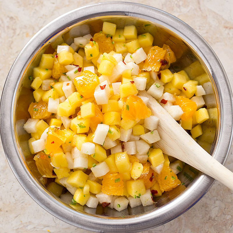 Mango Orange And Jicama Salad America S Test Kitchen