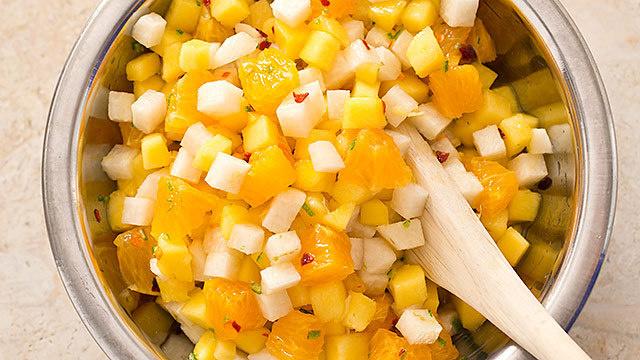America S Test Kitchen Mango Orange Jicama Salad