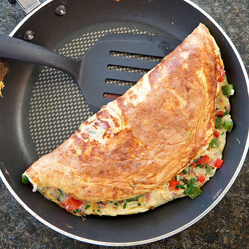 Reduced-Fat Denver Omelet