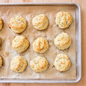 Mustard and Dill Drop Biscuits