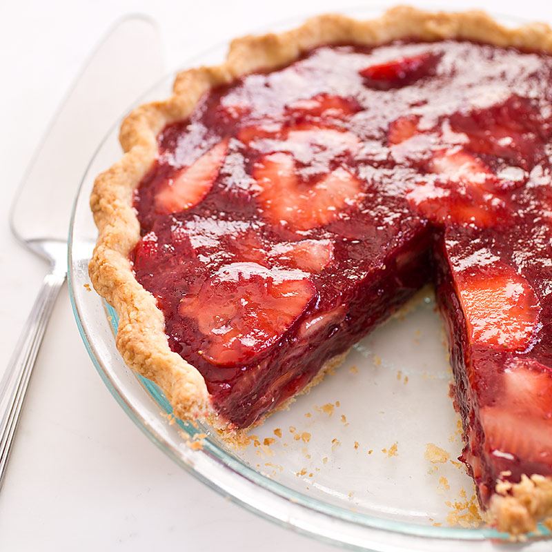 Icebox Strawberry Pie | Cook's Country