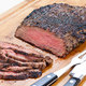 Charcoal-Grilled Flank Steak