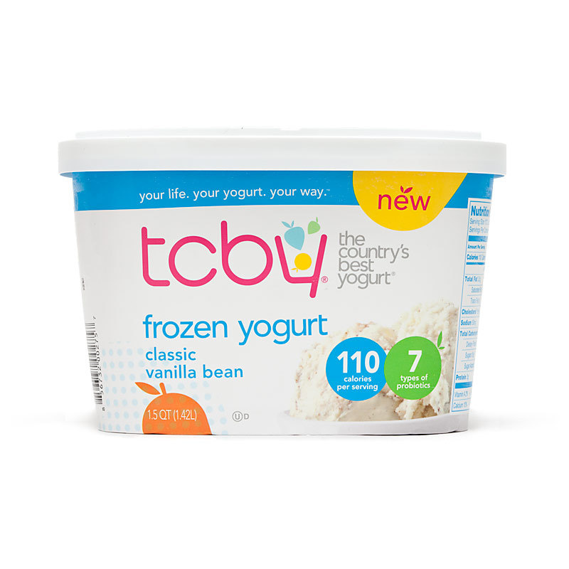 Supermarket Frozen Yogurt