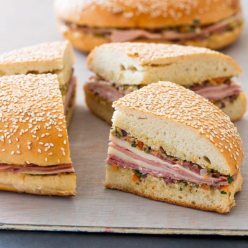 Muffaletta Sandwich America S Test Kitchen