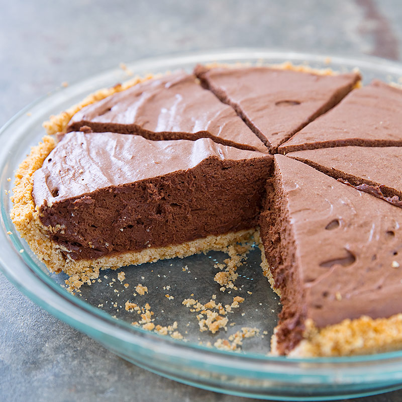 French Silk Chocolate Pie America