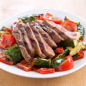 Grilled Steak and Vegetable Salad