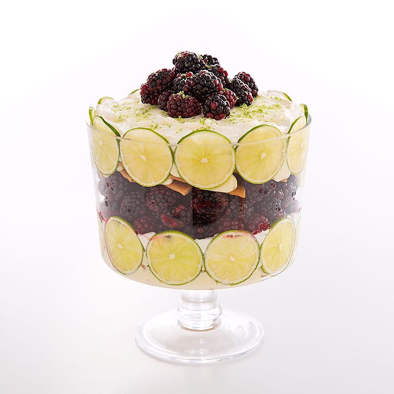 Blackberry Dessert Recipes: Blackberry-Key Lime Trifle