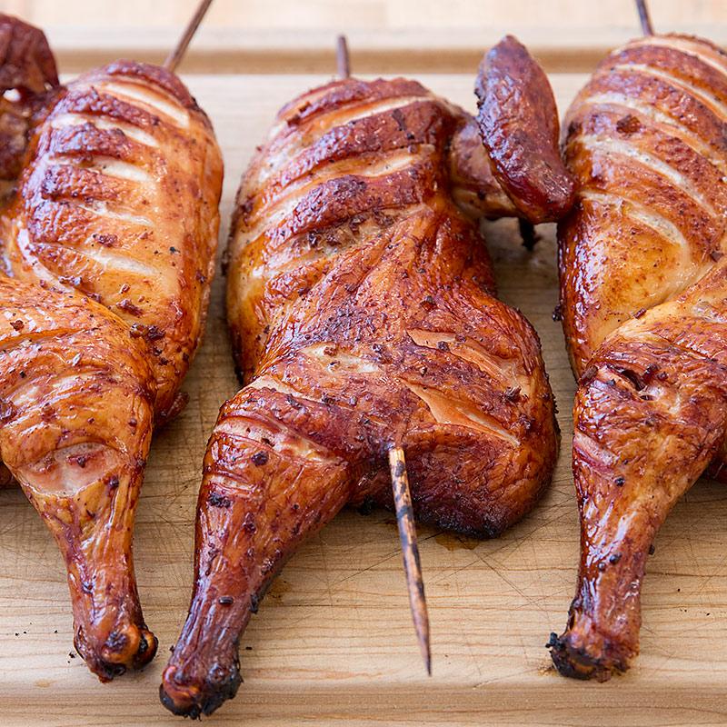 Bourbon Smoked Chicken Test Kitchen