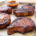 Quick Smoked Pork Chops