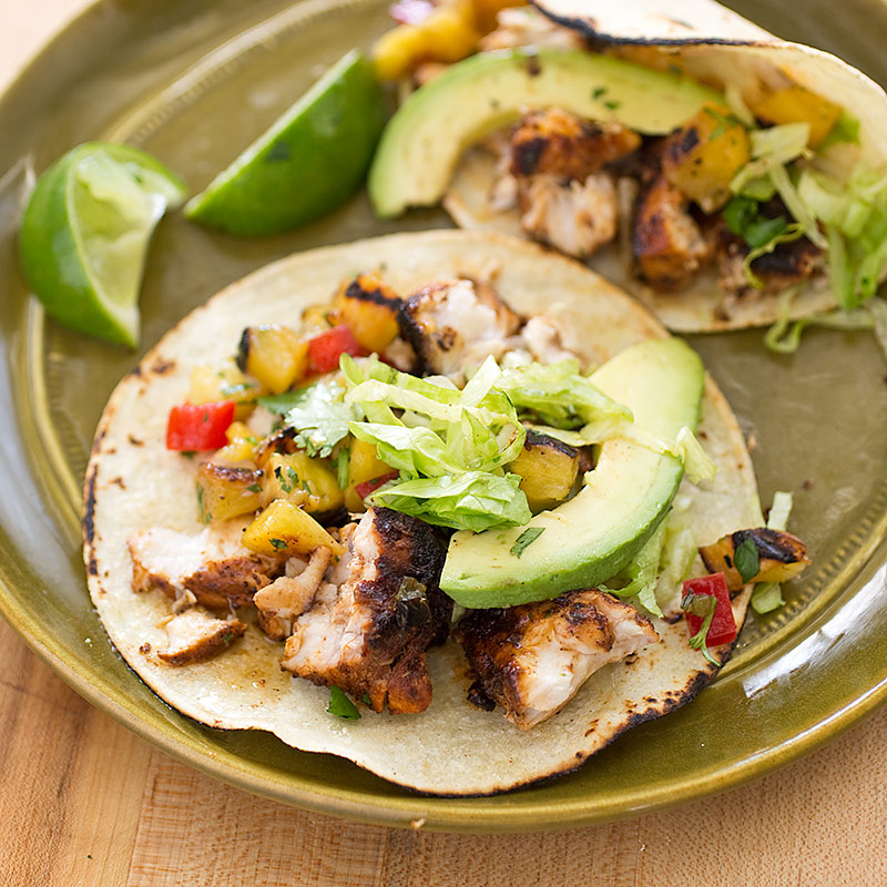 Grilled fish tacos america 39 s test kitchen for Fish taco recipe