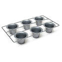 Chicago Metallic 6-Cup Popover Pan, Non-Stick