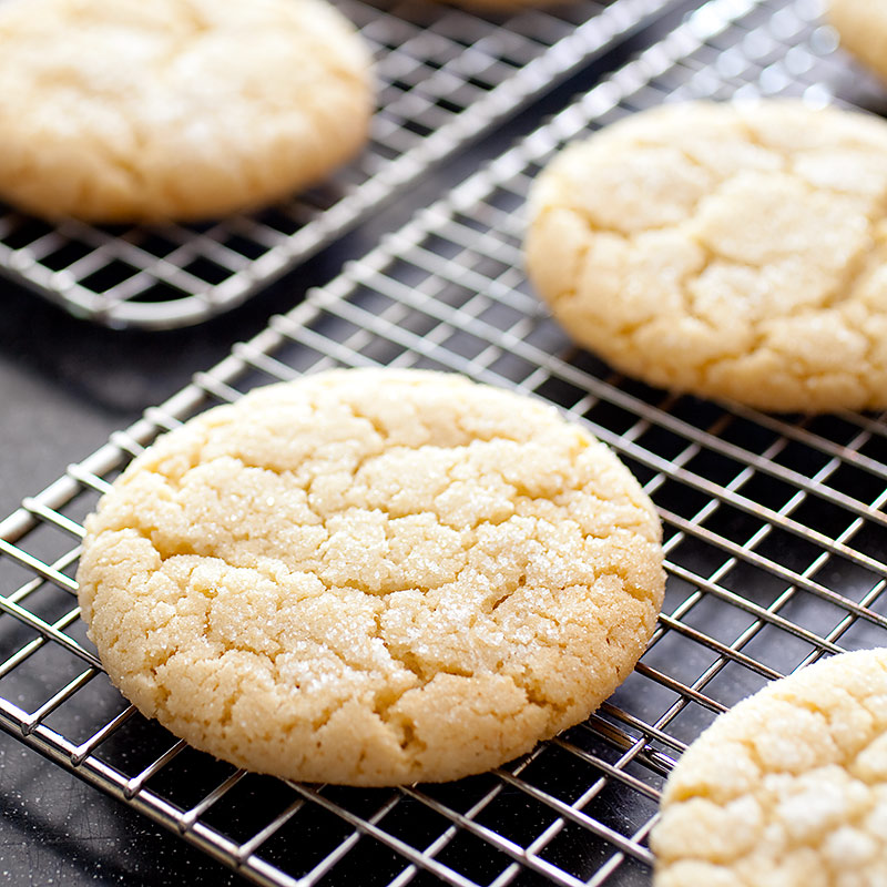 Chewy Sugar Cookies Recipe - America's Test Kitchen