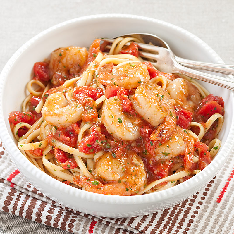 Shrimp Fra Diavolo With Linguine America S Test Kitchen