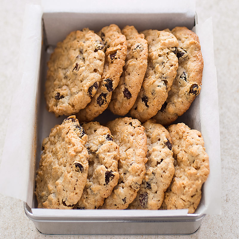 Big Chewy Oatmeal-Raisin Cookies Recipe - America's Test Kitchen