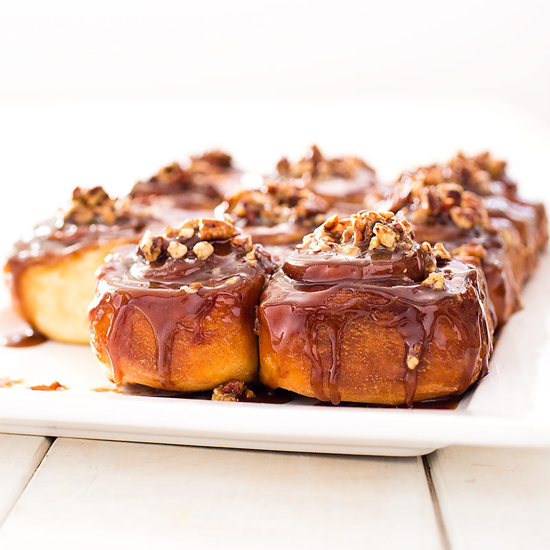 Sticky Buns with Pecans