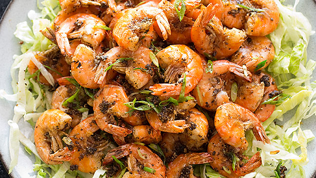 Crispy Salt And Pepper Shrimp America S Test Kitchen