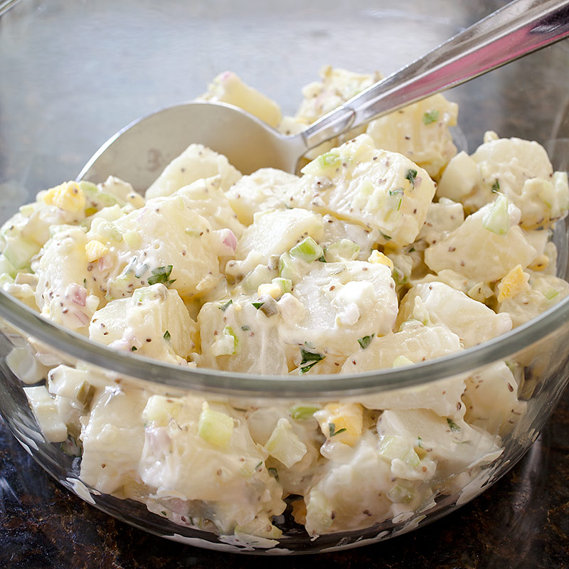 America S Test Kitchen All American Potato Salad
