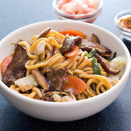 Japanese Style Stir Fried Noodles With Beef America S Test Kitchen