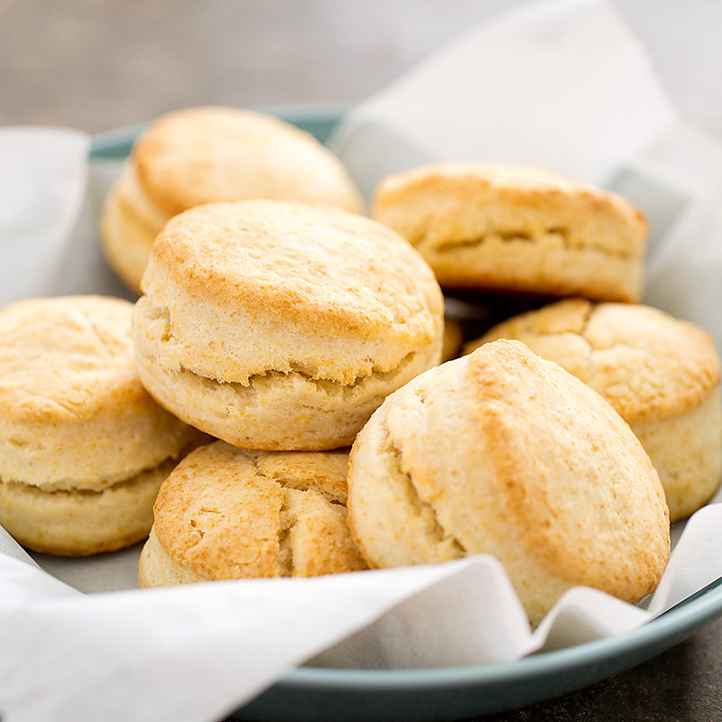 Quick and Easy Cream Biscuits Recipe - America's Test Kitchen