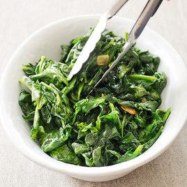 Sauteed Garlic Lemon Spinach Recipe America S Test Kitchen