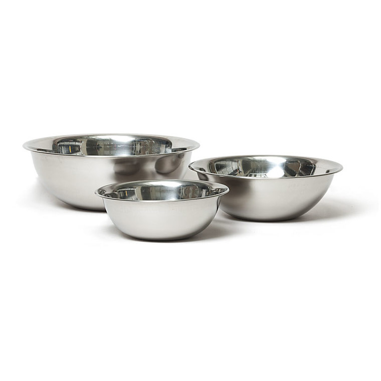 Americas Test Kitchen Stainless Steel Mixing Bowls