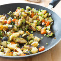 Brussels Sprout and Potato Hash