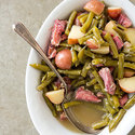 Southern-Style Green Beans and Potatoes