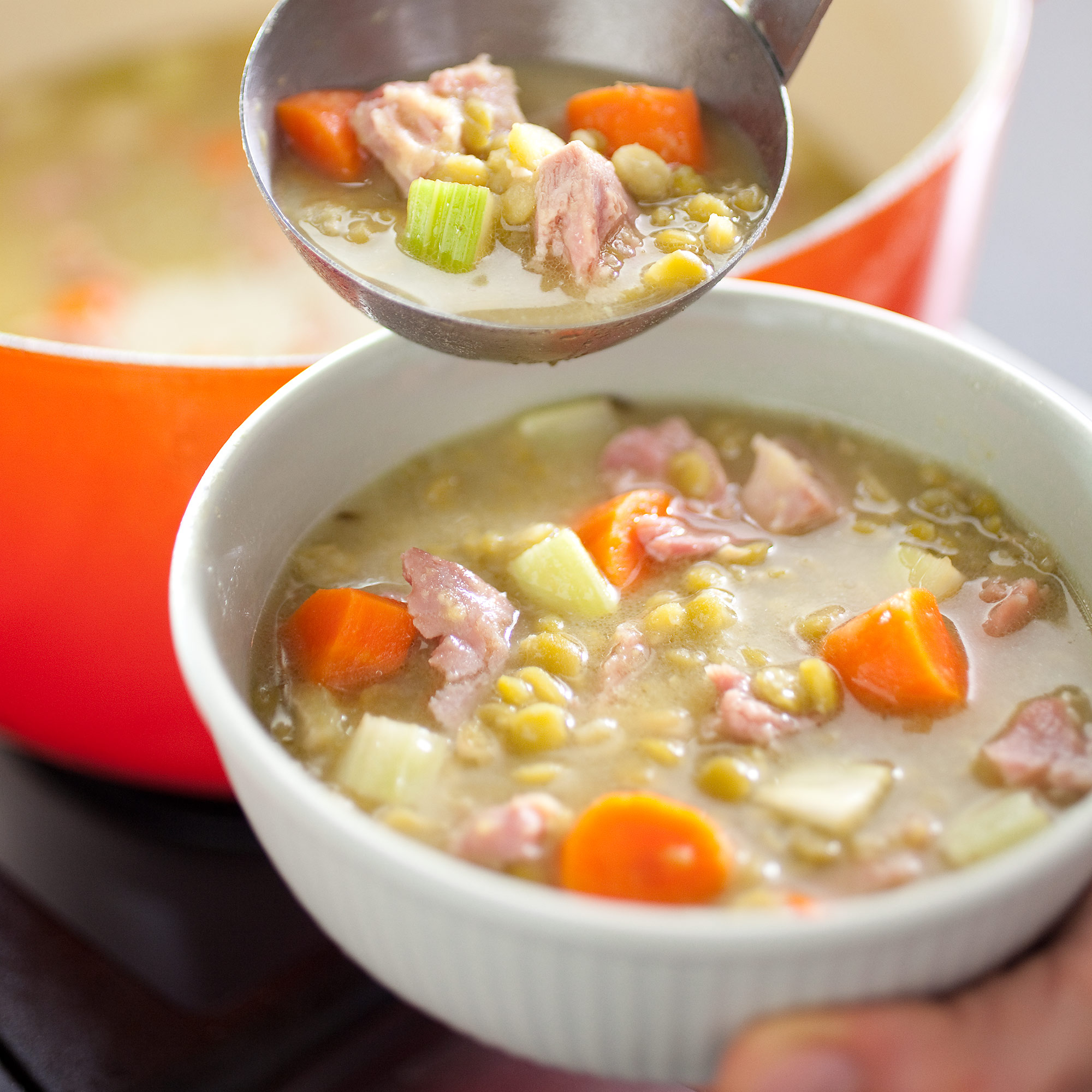Split Pea and Ham Soup Recipe - America's Test Kitchen