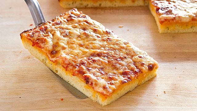 Thick Crust Sicilian Style Pizza