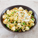 Orecchiette with Peas, Pine Nuts, and Ricotta