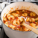 Seafood and Chorizo Stew