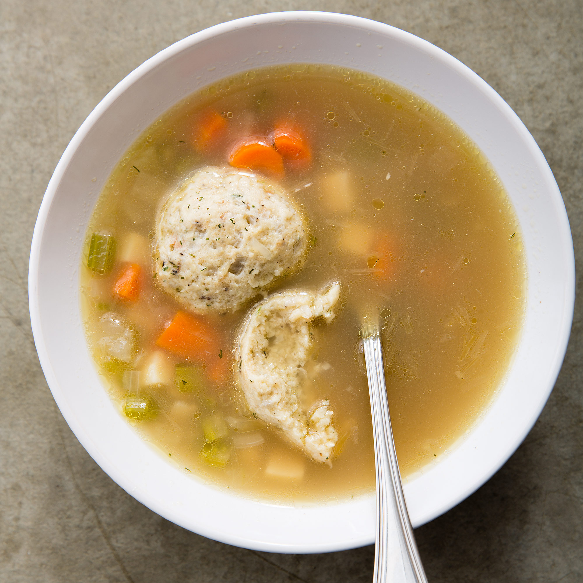 America S Test Kitchen Matzo Ball Soup
