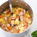 Country-Style Pork Stew for Two