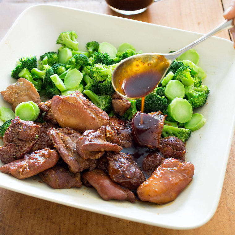 Vietnamese-Style Caramel Chicken with Broccoli From Sweet and Spicy ...