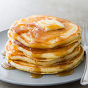 Cornmeal Buttermilk Pancakes
