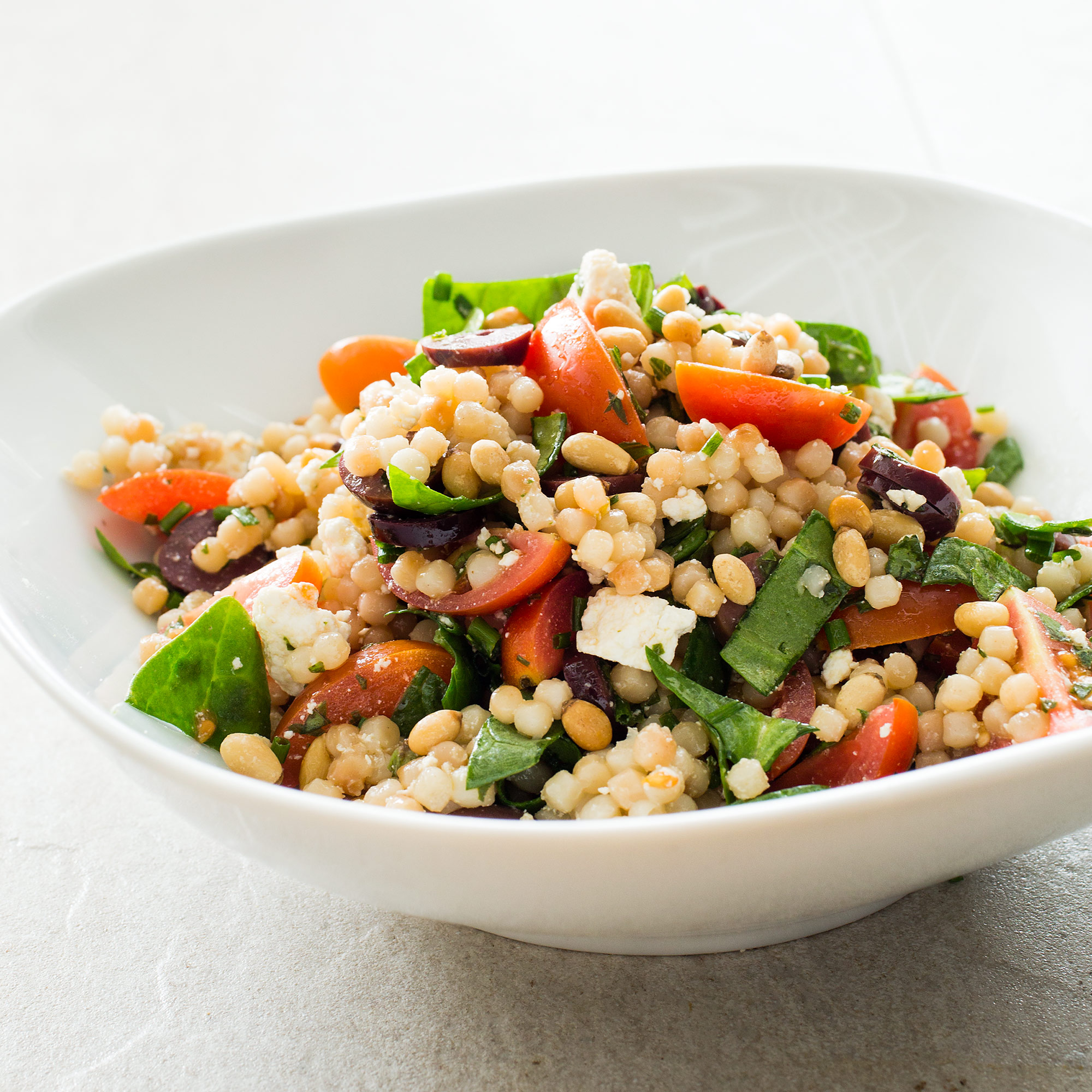 how to cook israeli couscous plain