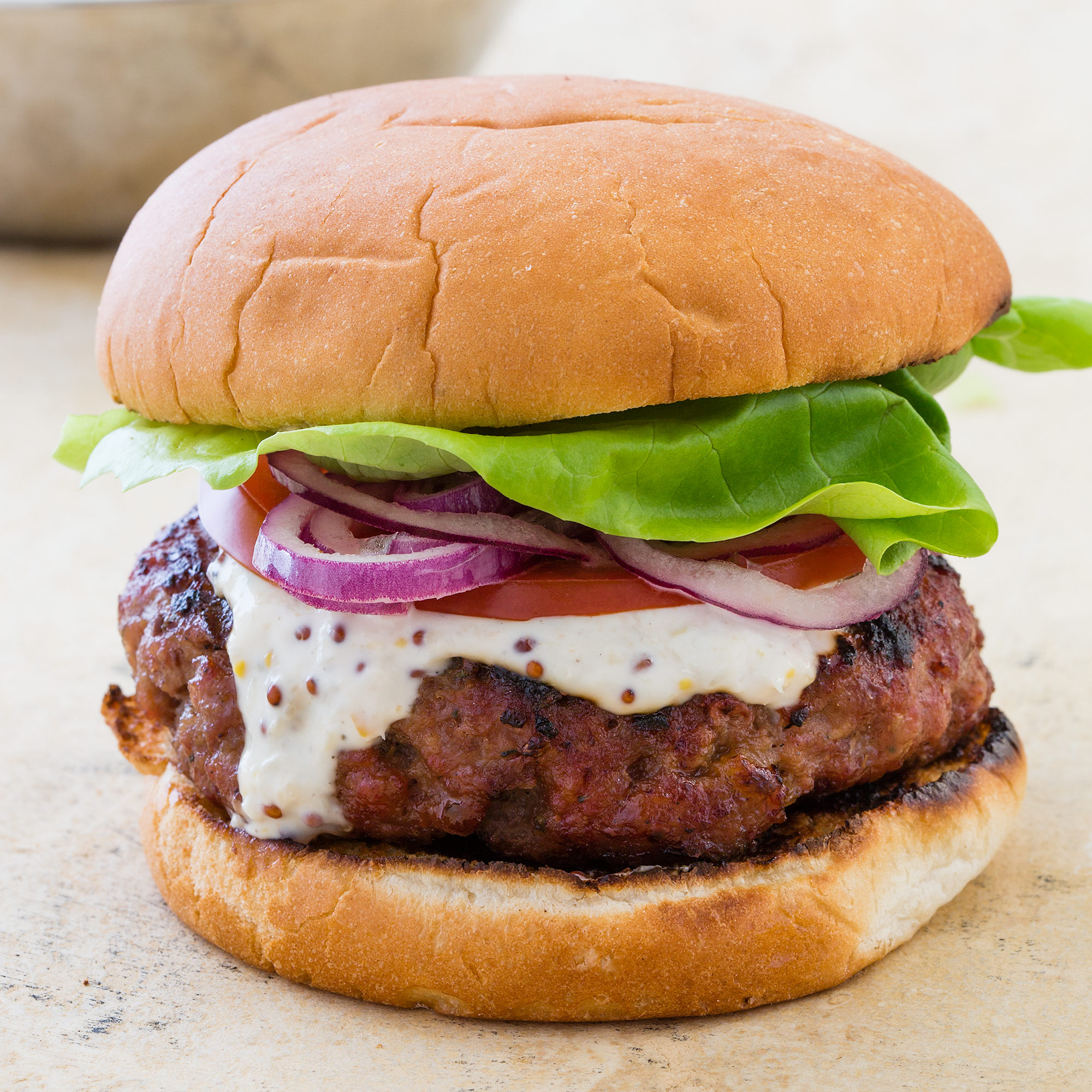 Grilled Thai-Style Pork Burgers