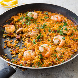 Chicken Chorizo Paella Cook S America Test Kitchen