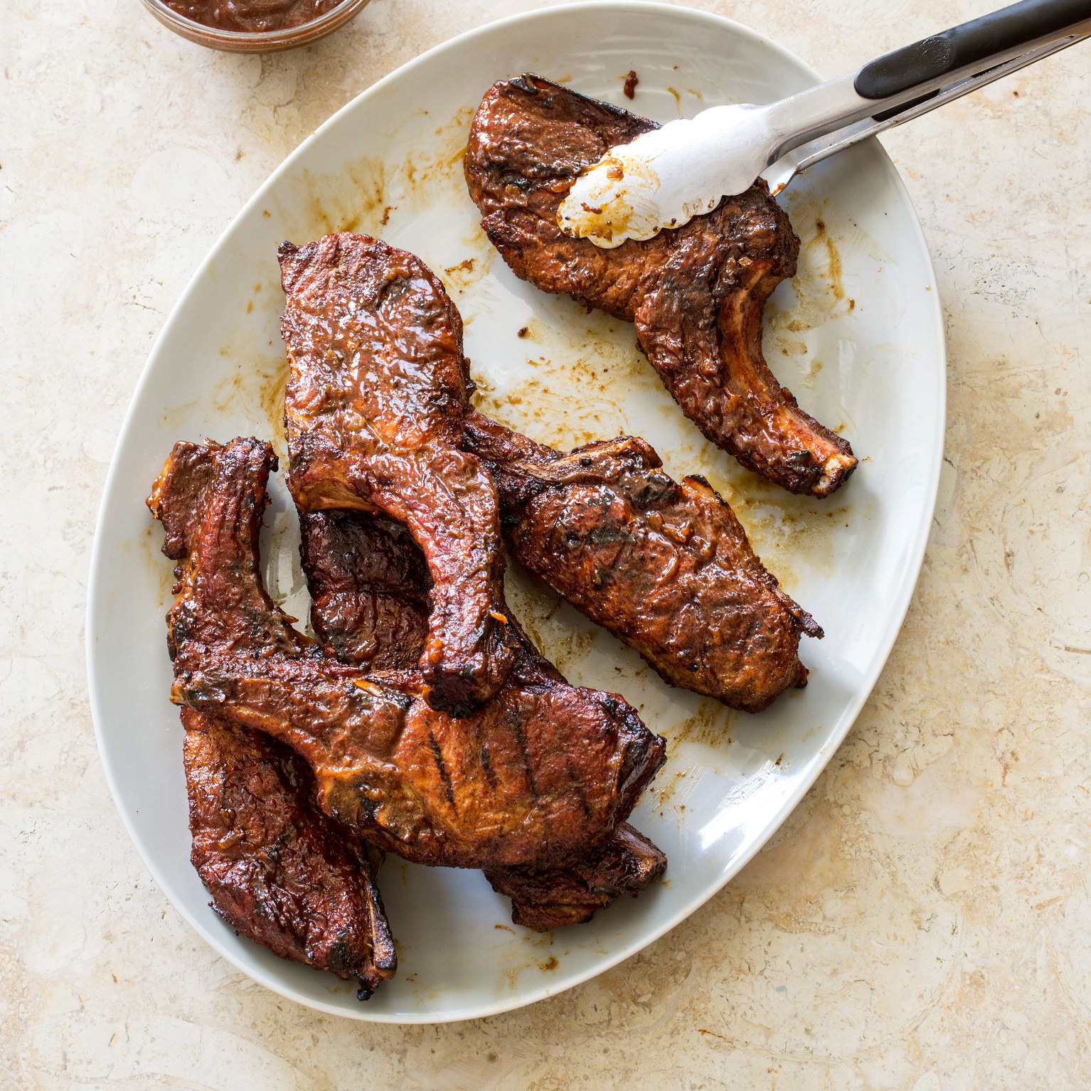 Sweet And Tangy Grilled Country-Style Pork Ribs