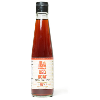 Fish sauce america 39 s test kitchen for Red boat fish sauce ingredients