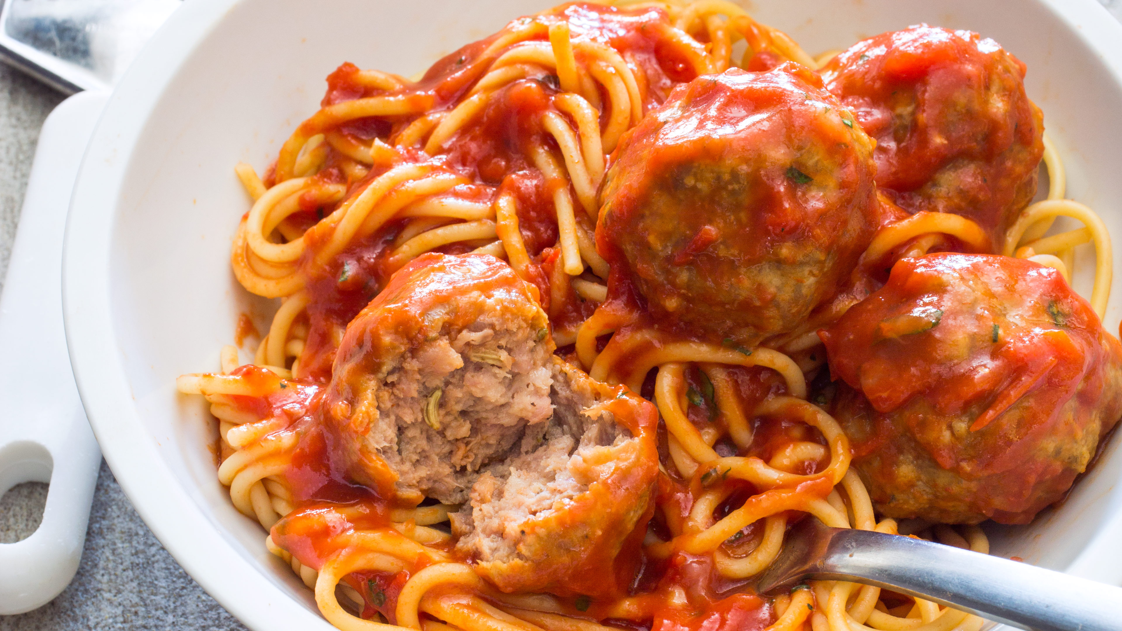 Americas Test Kitchen Spaghetti And Sausage Meatballs