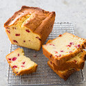 Cranberry-Sour Cream Pound Cake