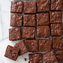 Dark Chocolate-Cherry Brownies