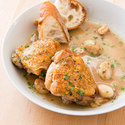 Slow-Cooker Chicken with 40 Cloves of Garlic